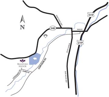 Briarwood-map, maps & directions, HCF Inc